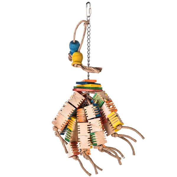 A283 Groovy Blocks Bird Toy