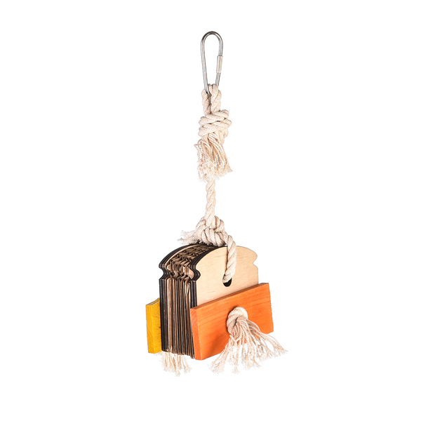 Foraging Bird Toys – Almond Sandwich