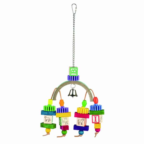 Block Play Bird Toy