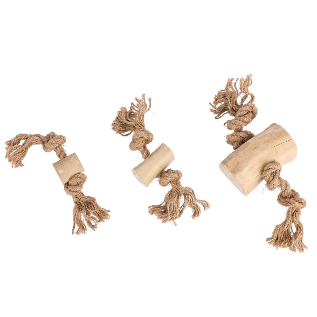 Dog chews-Coffee Wood Dog Tug M